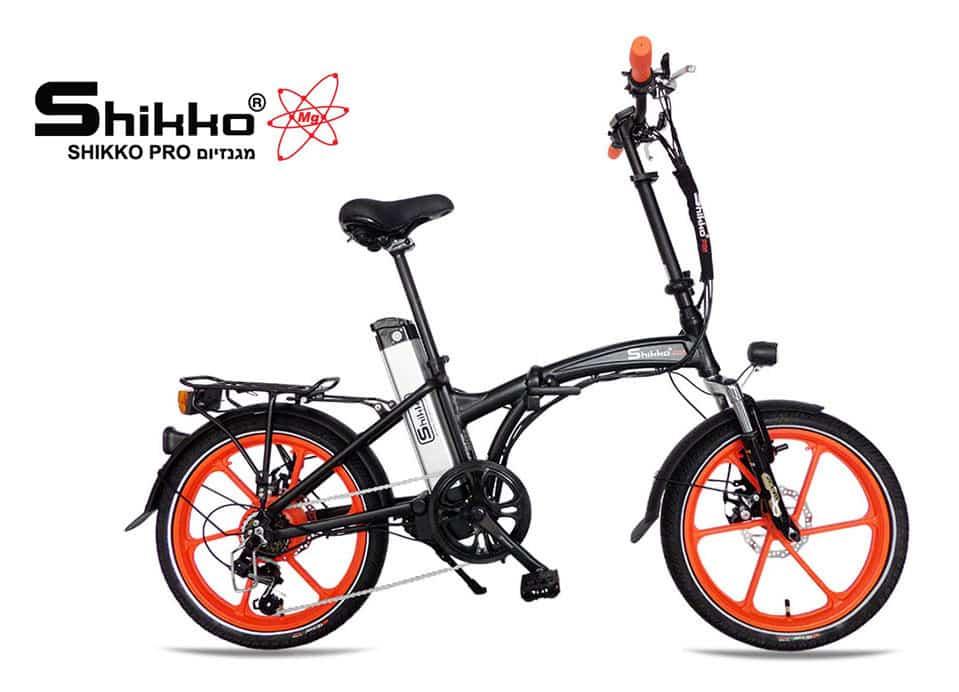אופניים חשמליים מגנזיום דגם שיקו פרו מגנזיום