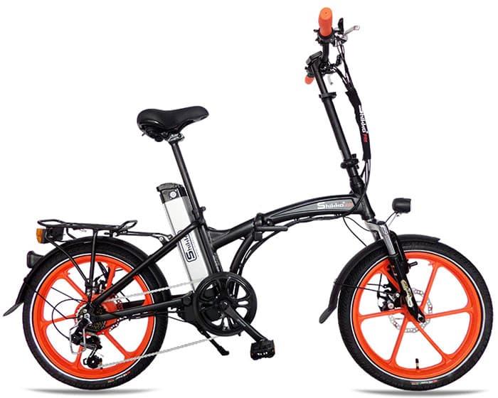 Shikko Pro Black_Orange - אופניים חשמליים שיקו פרו שחור-כתום