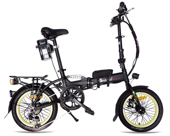 אופניים חשמליים שיקו דאזל - Shikko Dazzle שחור-צהוב