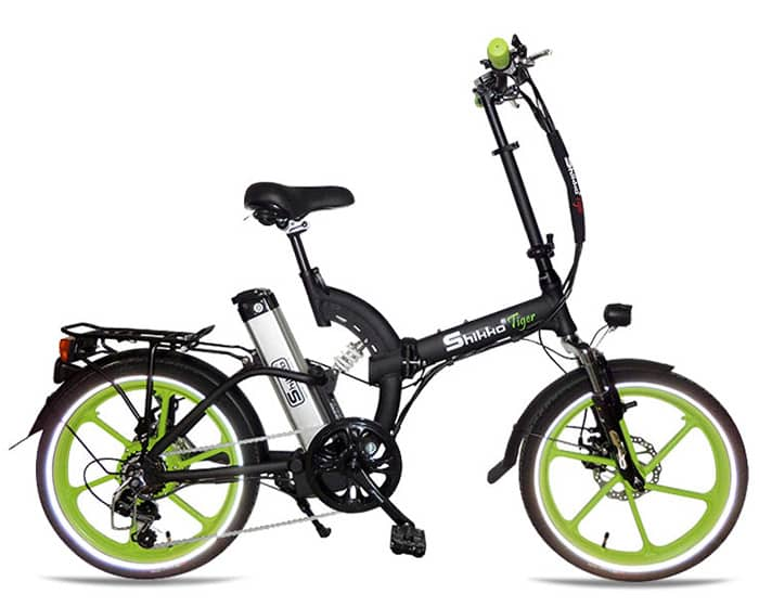 Shikko Tiger Green - אופניים חשמליים שיקו טייגר ירוק