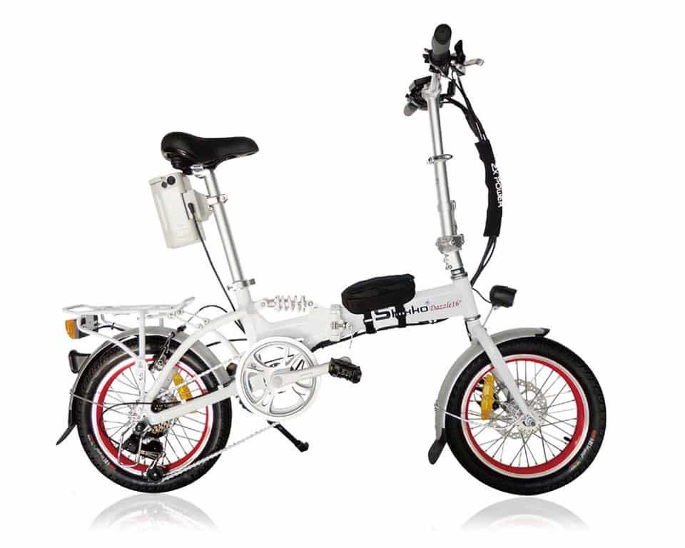אופניים חשמליים עם גלגלים קטנים - אופניים חשמליים מתקפלים
