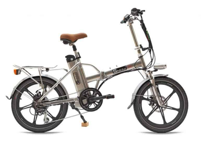 אופניים חשמליים מגנזיום - כסוף