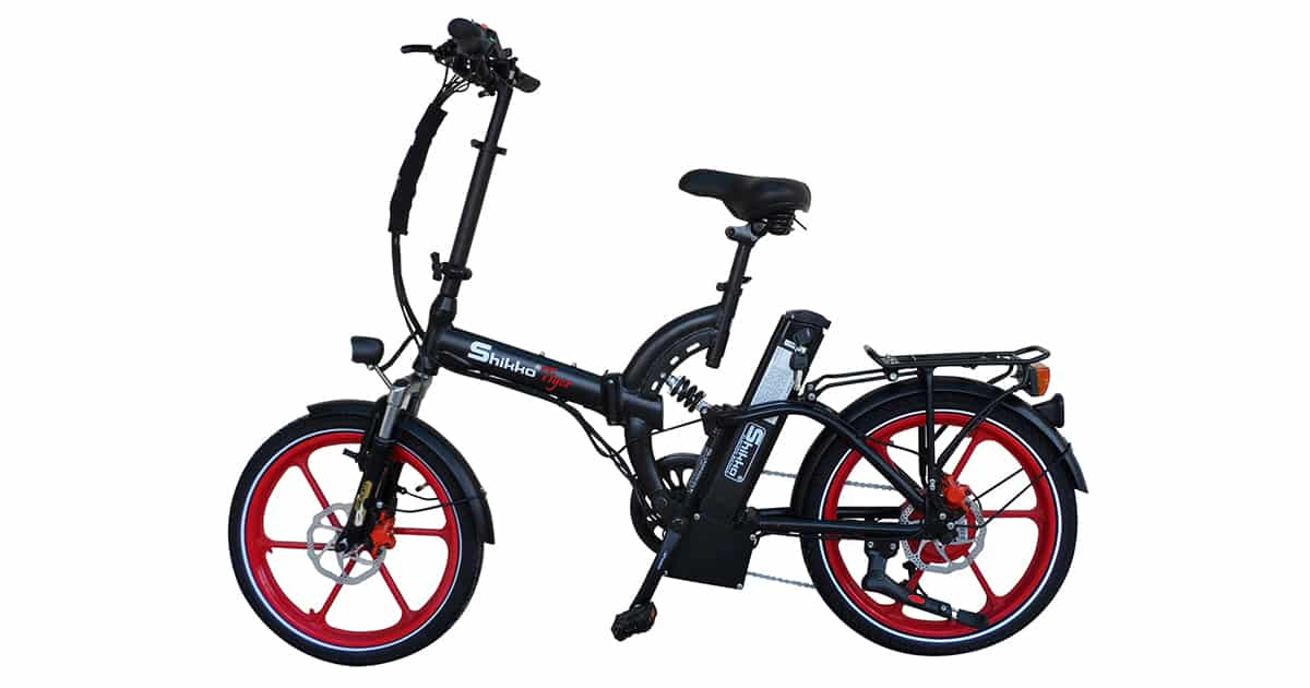 אופני shikko tiger אדומות