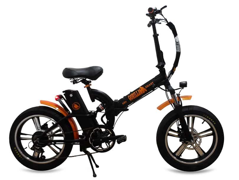 אופניים חשמליים עם גלגלי בלון - אופניים חשמליים גורילה - אופניים חשמליים FAT