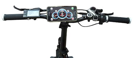 אופניים חשמליים עם אפליקציה