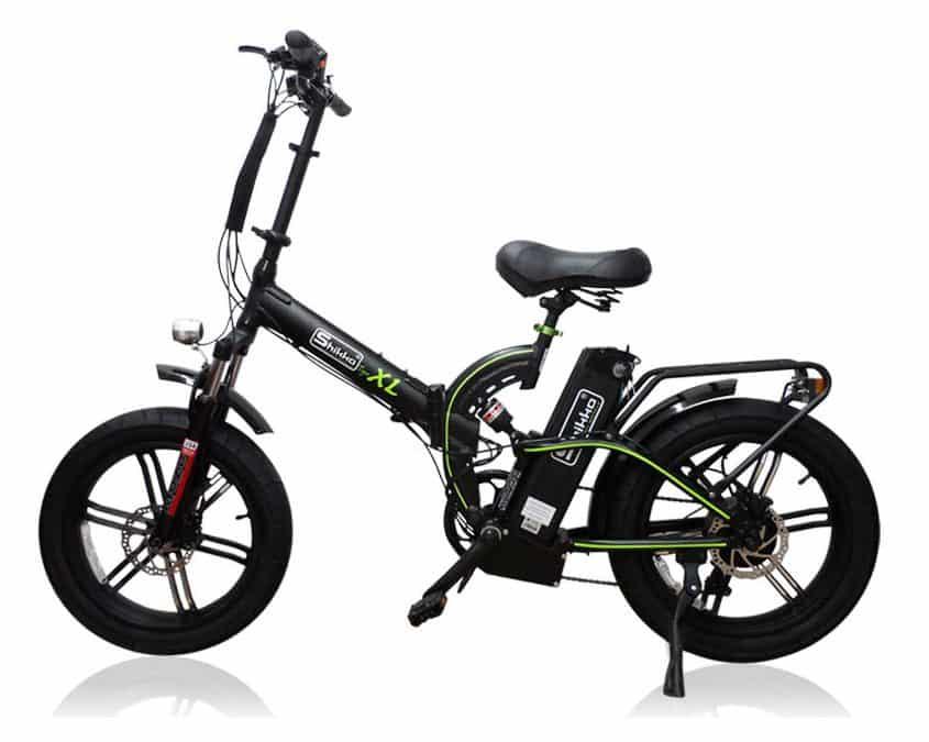 אופניים חשמליים עם גלגלים רחבים Shikko Tiger XL